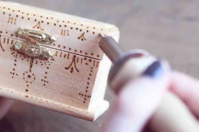 decorar cajas de madera