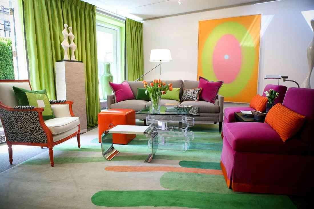 salones de colores diferentes