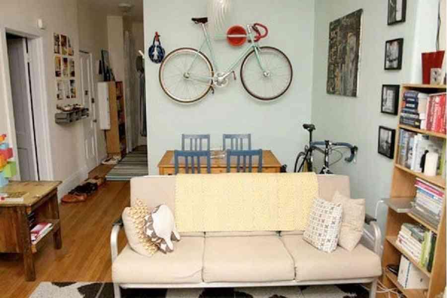 donde colocar la bicicleta