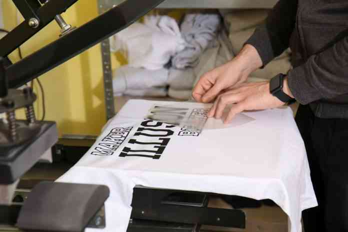serigrafiar camisetas
