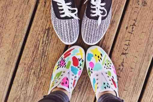 renovar los zapatos